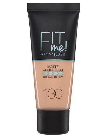 Maybelline FIT Me ματ υγρό makeup για λιπαρές επιδερμίδες