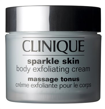 Clinique sparkle skin exfoliating cream