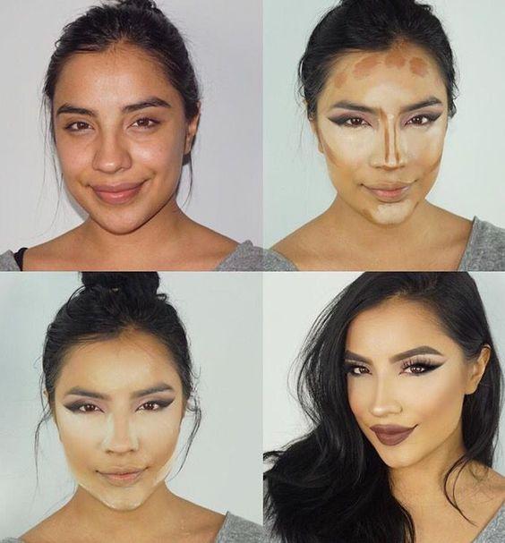 Εκπληκτικές μεταμορφώσεις με μακιγιάζ
