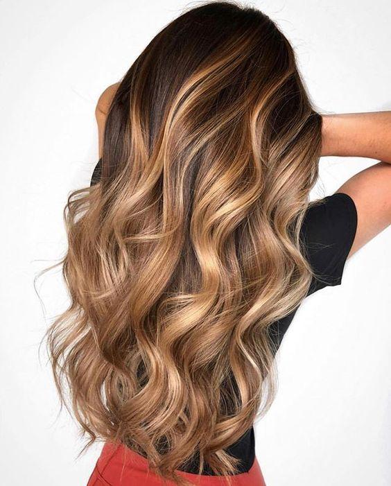 Balayage για όλα τα χρώματα μαλλιών