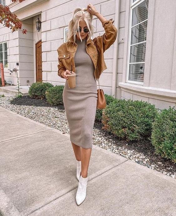 Πώς να φορέσεις γκρι με γήινους τόνους