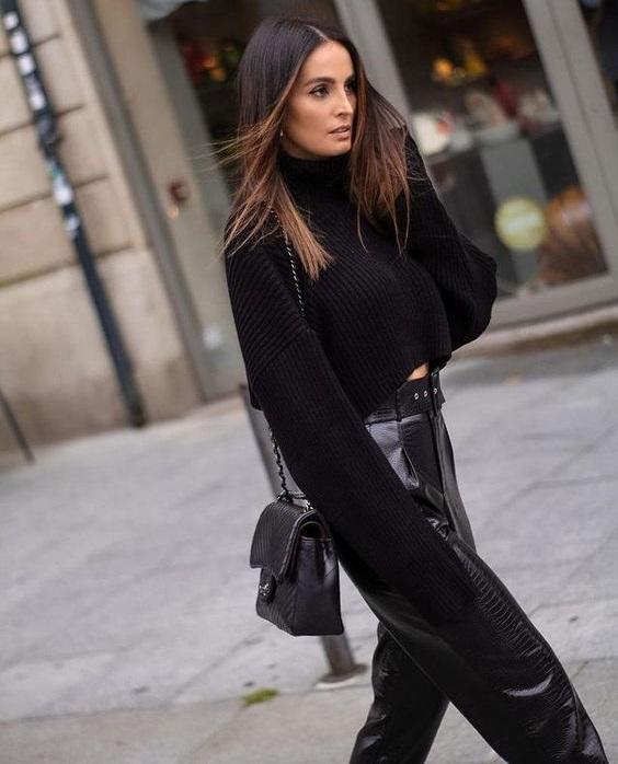 Πώς να φορέσεις μαύρο ζιβάγκο αυτή τη σεζόν - The Cover