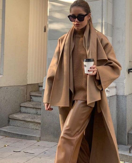 Πώς να φορέσεις καμηλό παντελόνι looks & shopping picks - The Cover
