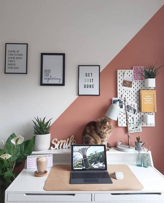 Διακόσμηση γραφείου στο σπίτι για έμπνευση - The Cover