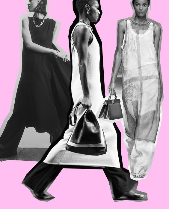 Φόρεμα με παντελόνι ο hot συνδυασμός για την άνοιξη 2021