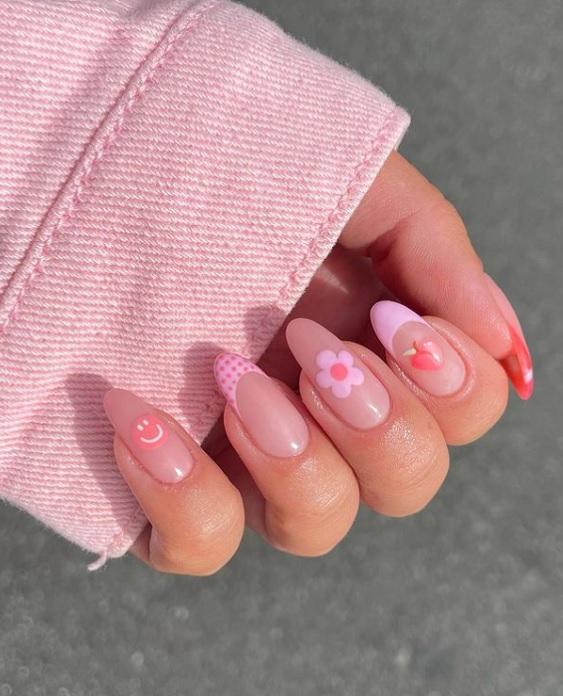 Ροζ μανικιούρ: 10 ιδέες για ροζ νύχια στις τάσεις της ομορφιάς - The Cover